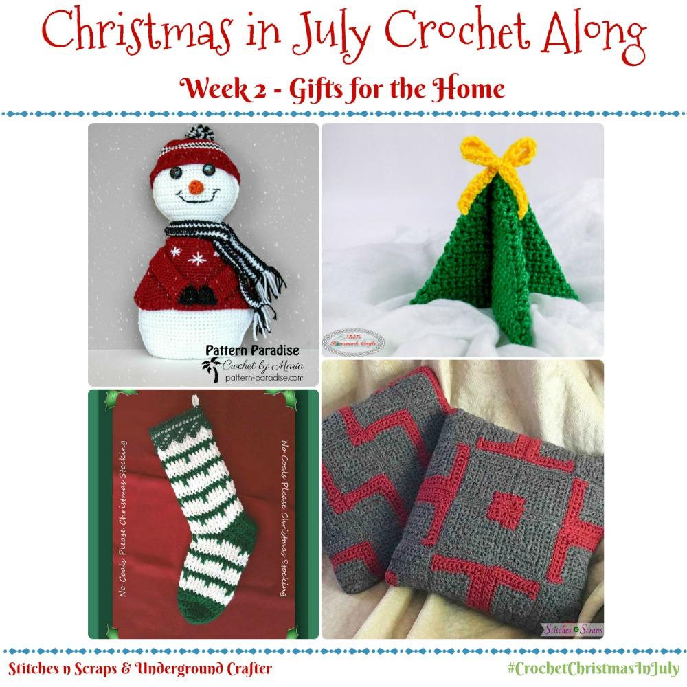 Christmas in July Crochet Along - Week 2