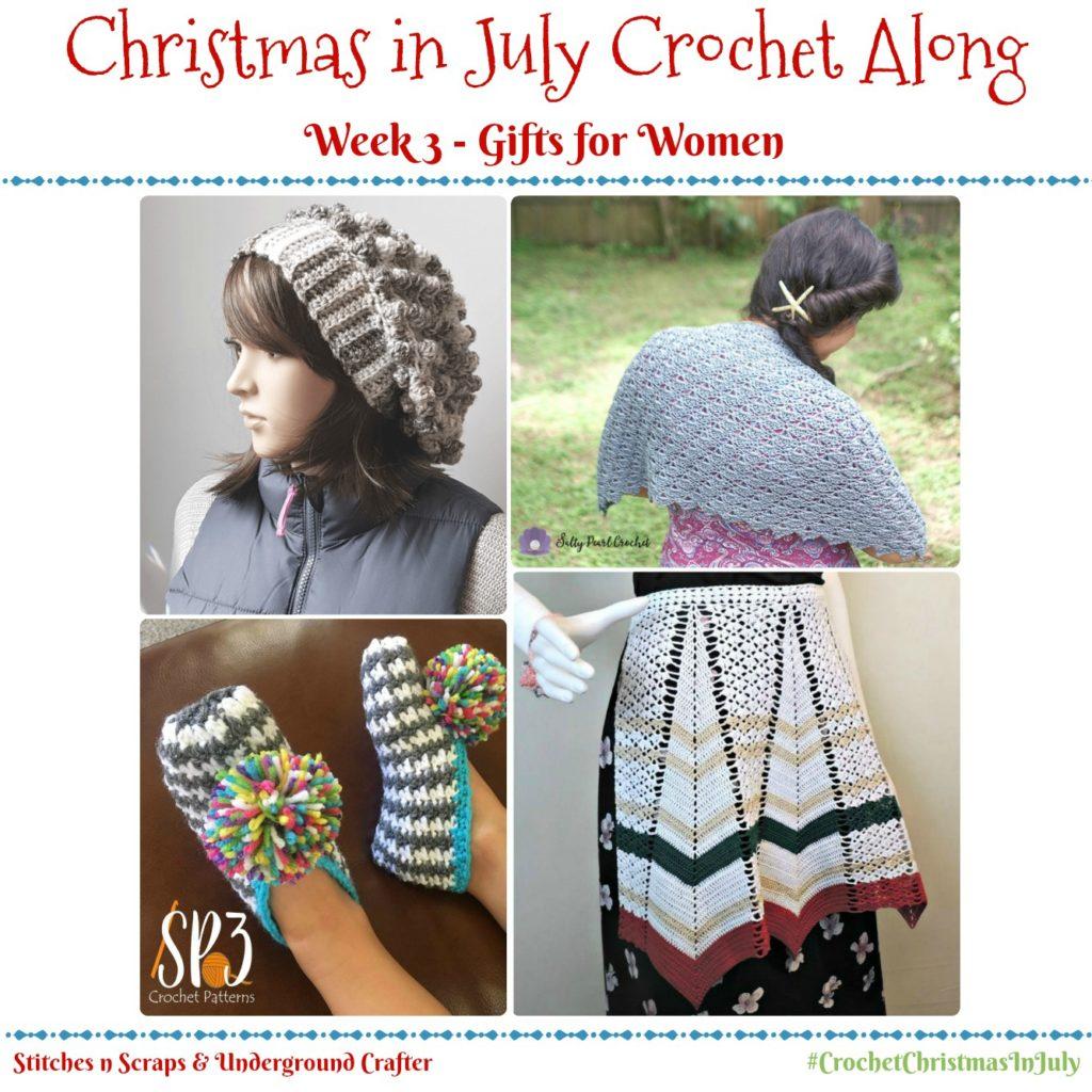 Christmas in July Crochet Along - Week 3