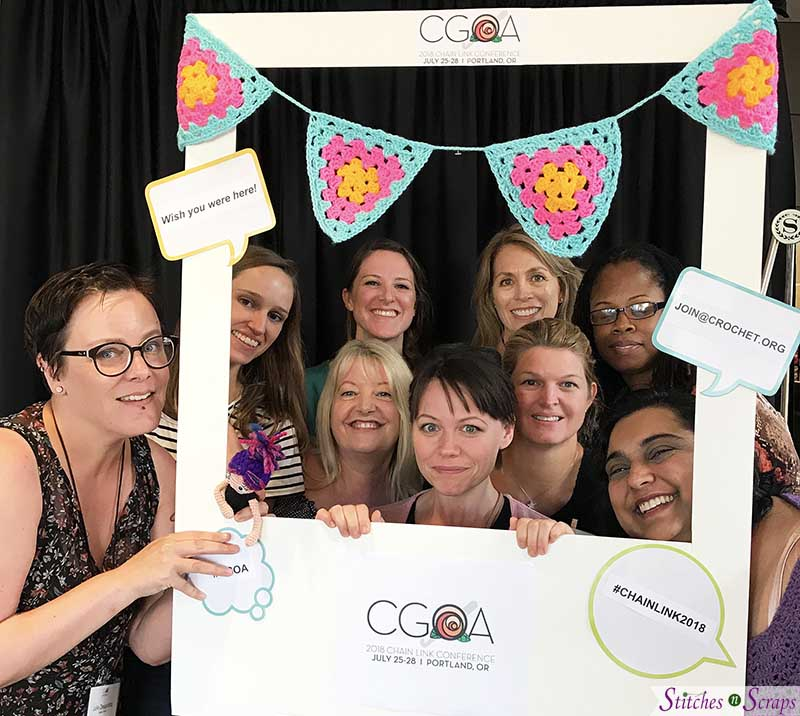 photo frame- CGOA Chain Link Conference 2018 - Stitches n Scraps