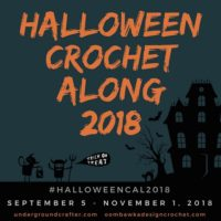 Halloween Crochet Along on Underground Crafter