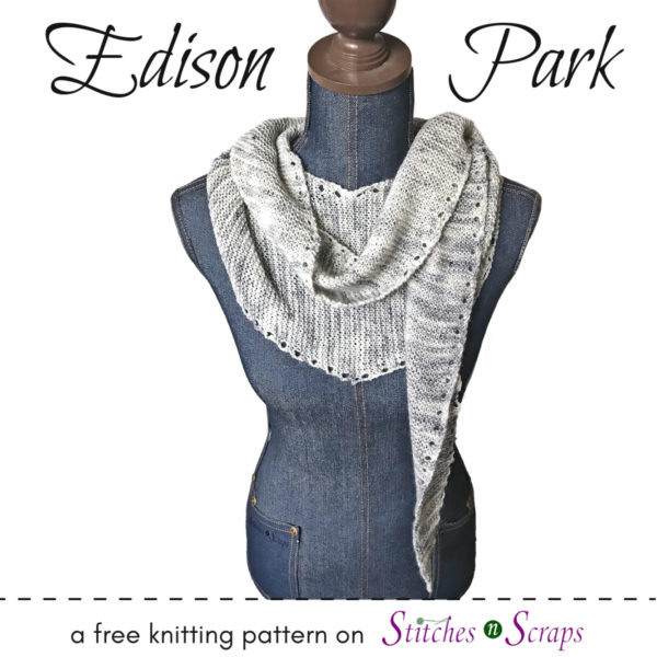 Edison Park - A free knitting pattern on Stitches n Scraps