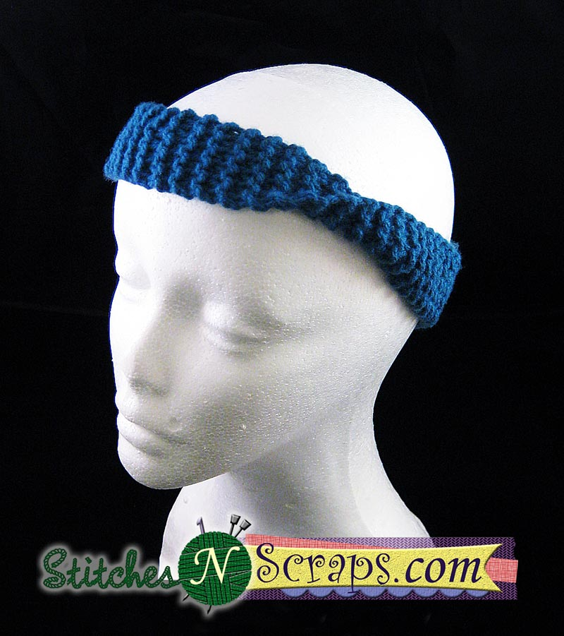 Free Pattern Super Simple Garter Stitch Headband Stitches N Scraps