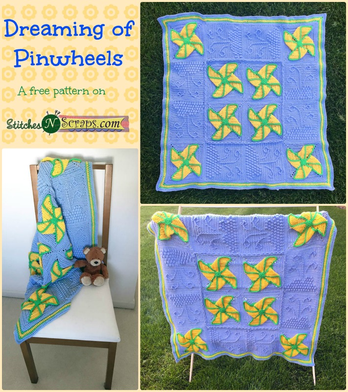 Free Pattern Dreaming Of Pinwheels Stitches N Scraps