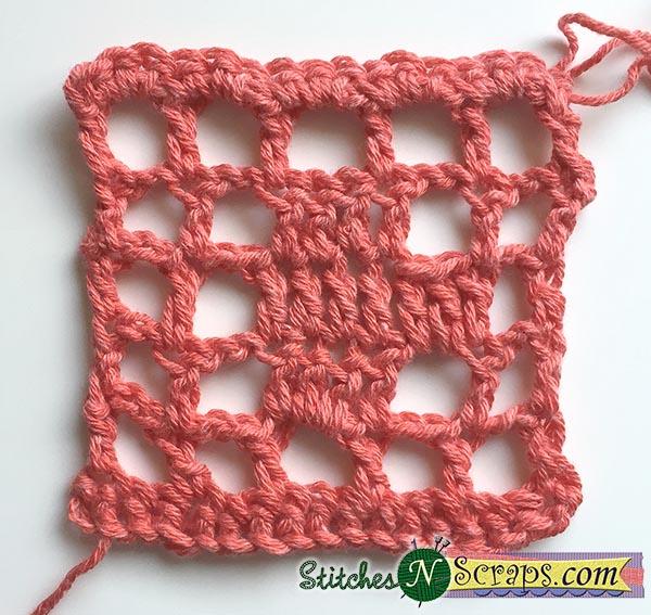 Tutorial Basic Filet Crochet Stitches N Scraps