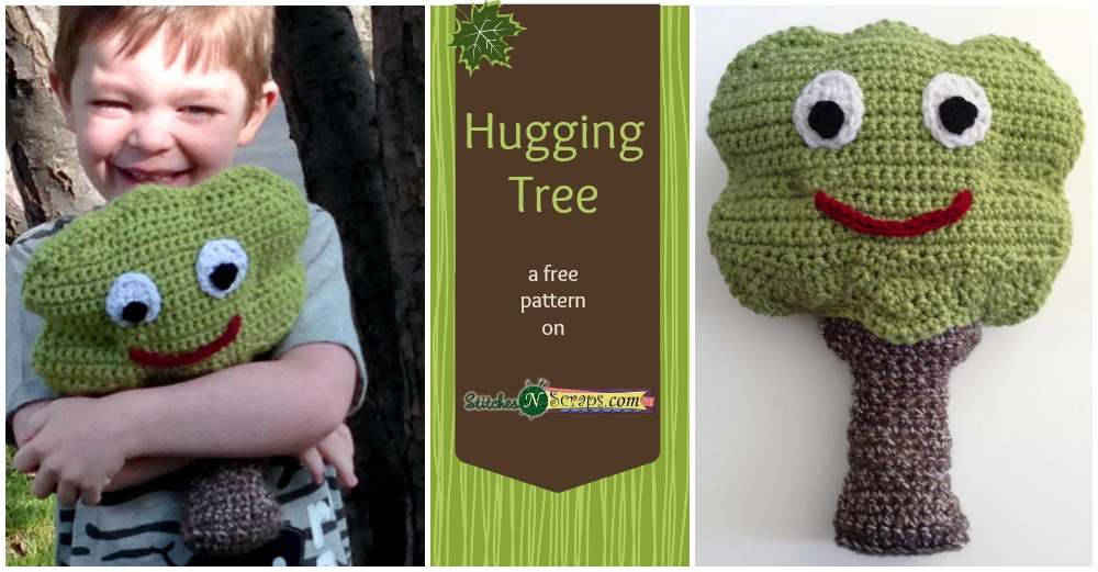 Free Pattern Hugging Tree Stitches N Scraps