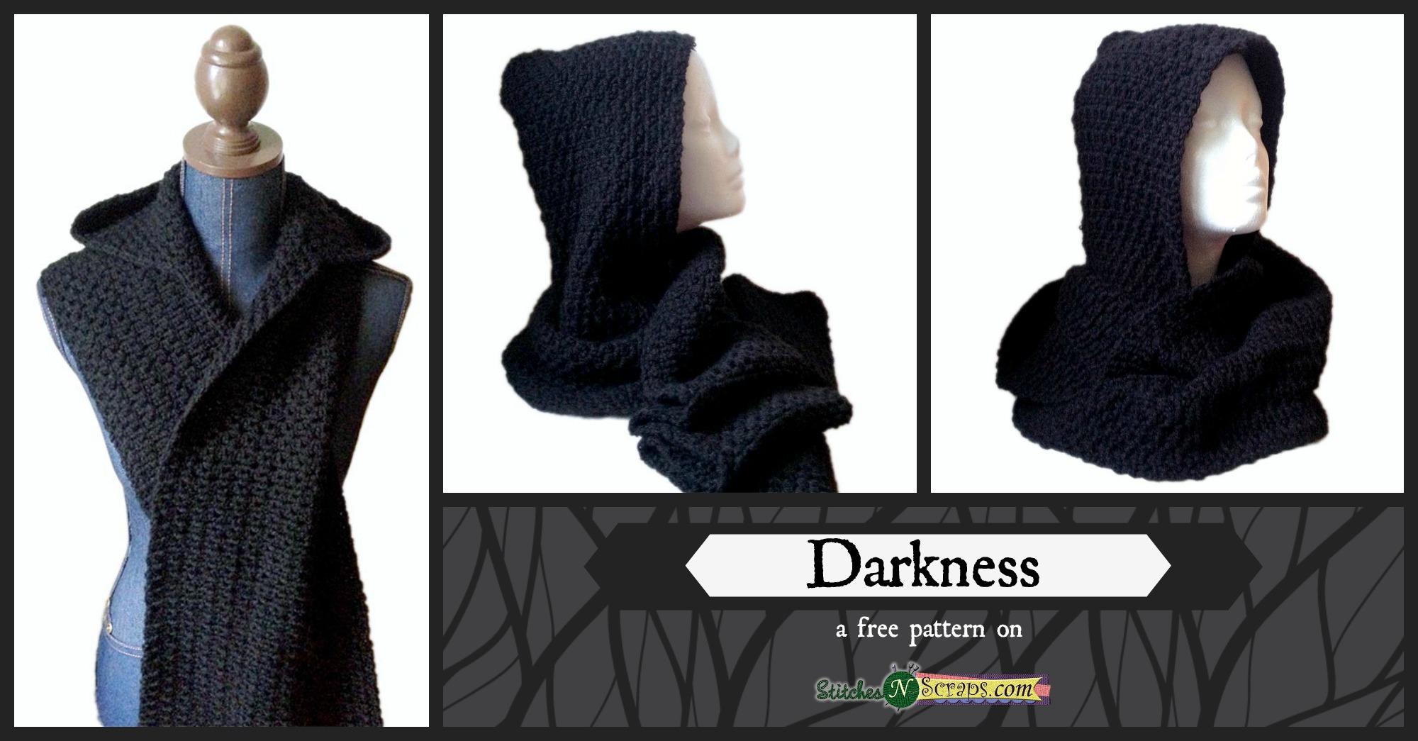 Free Pattern Darkness Stitches N Scraps