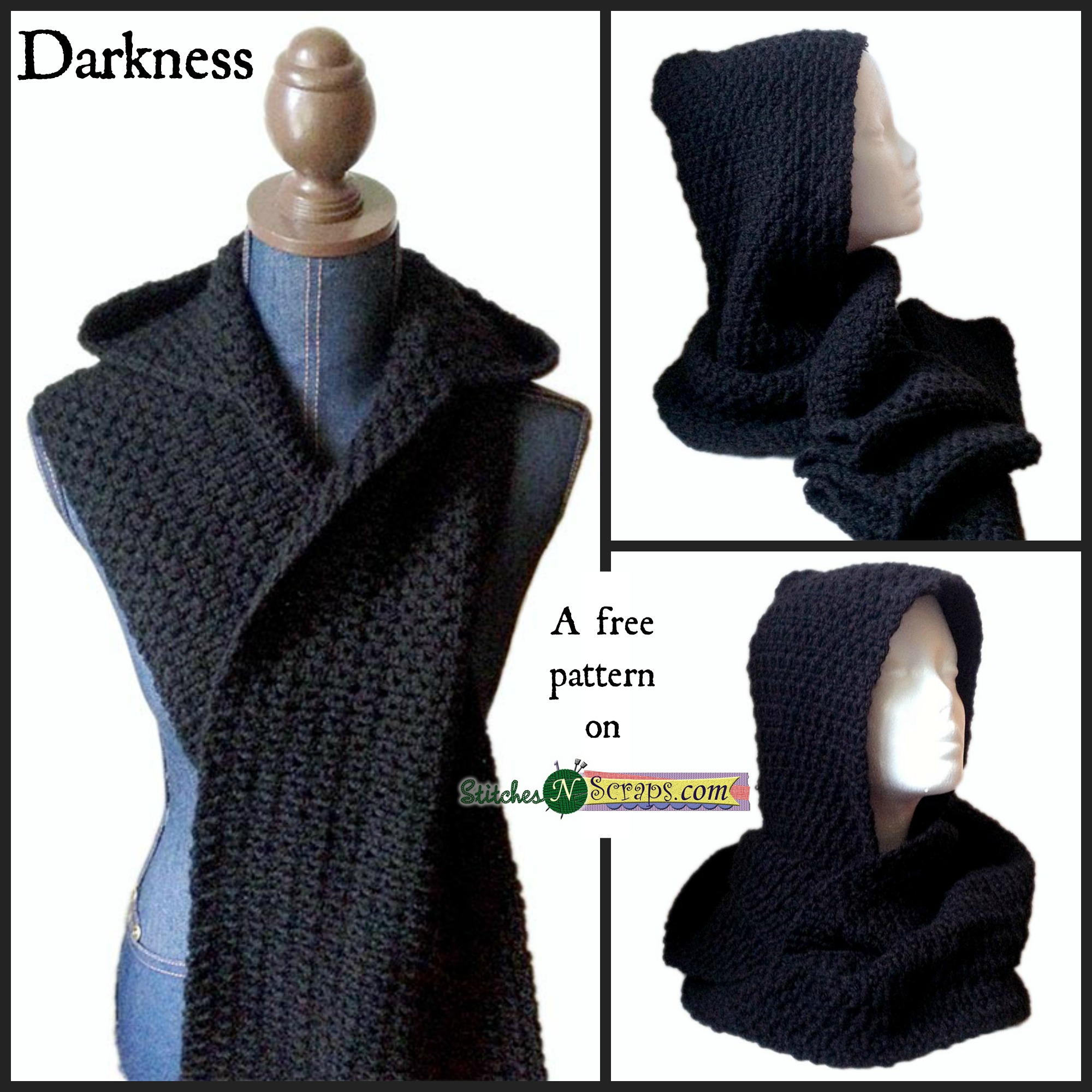 Crochet Hooded Scarf Pattern Magnificent Design Inspiration