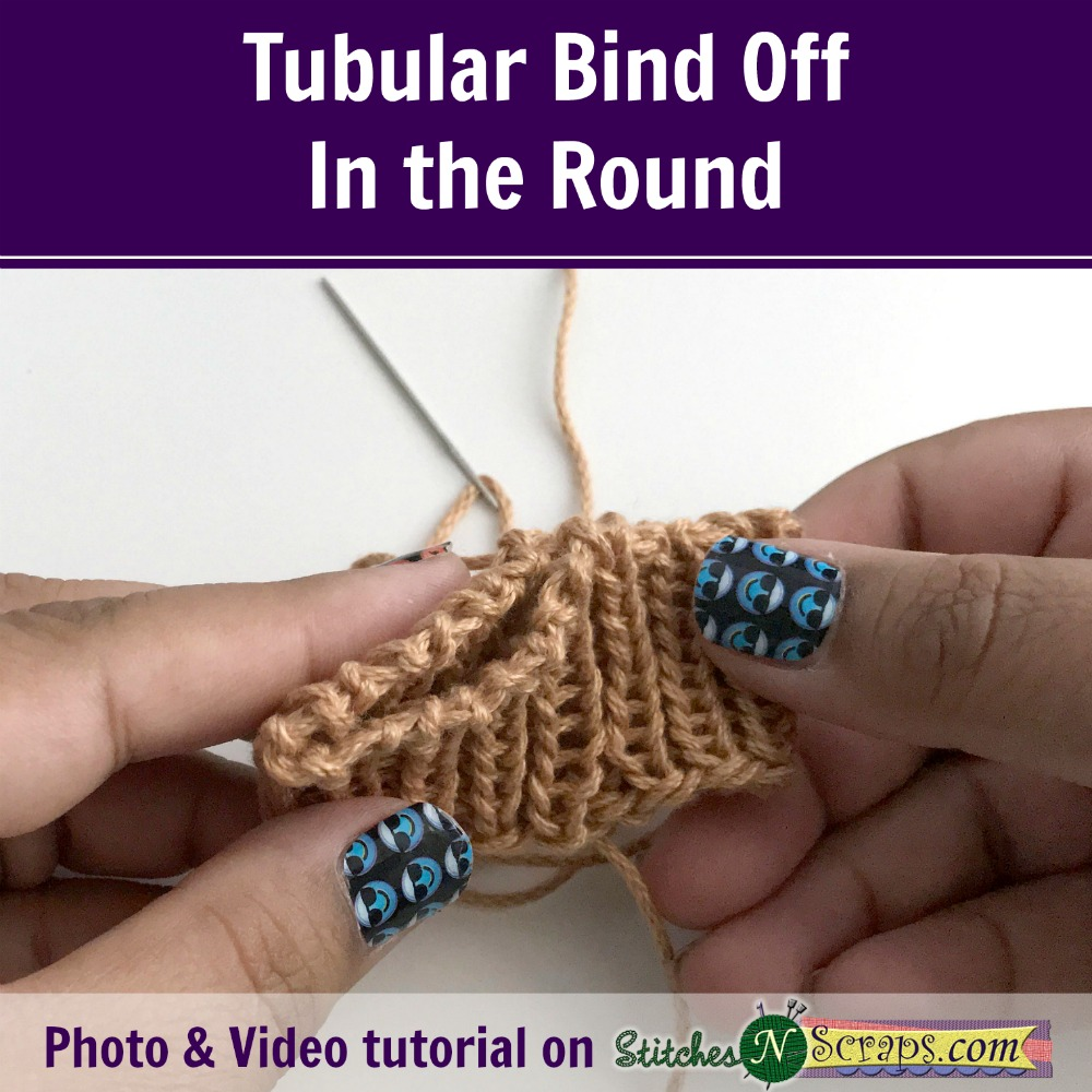 Tubular Bind Off In The Round