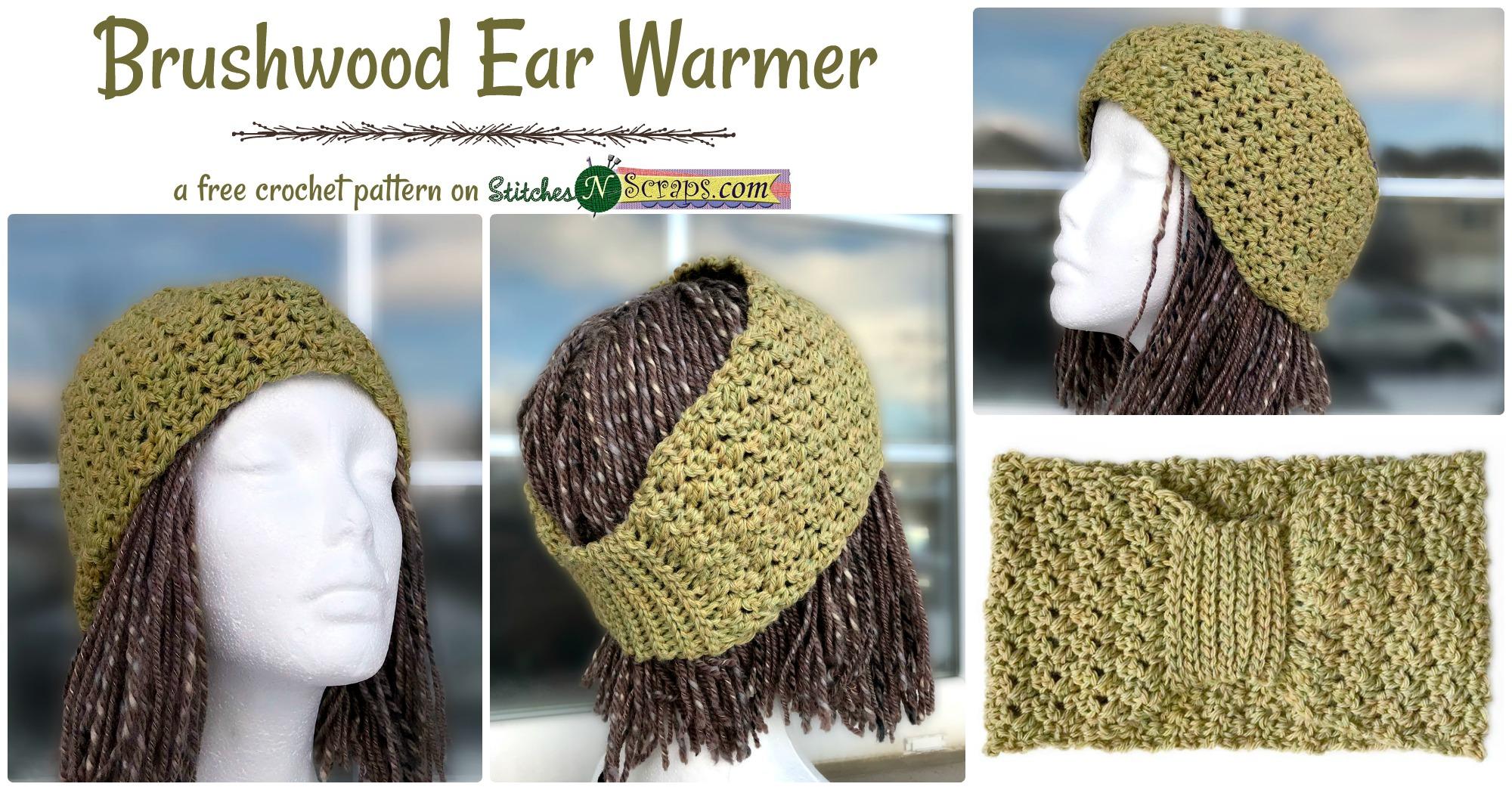 Free Pattern - Brushwood Ear Warmer - Stitches n Scraps