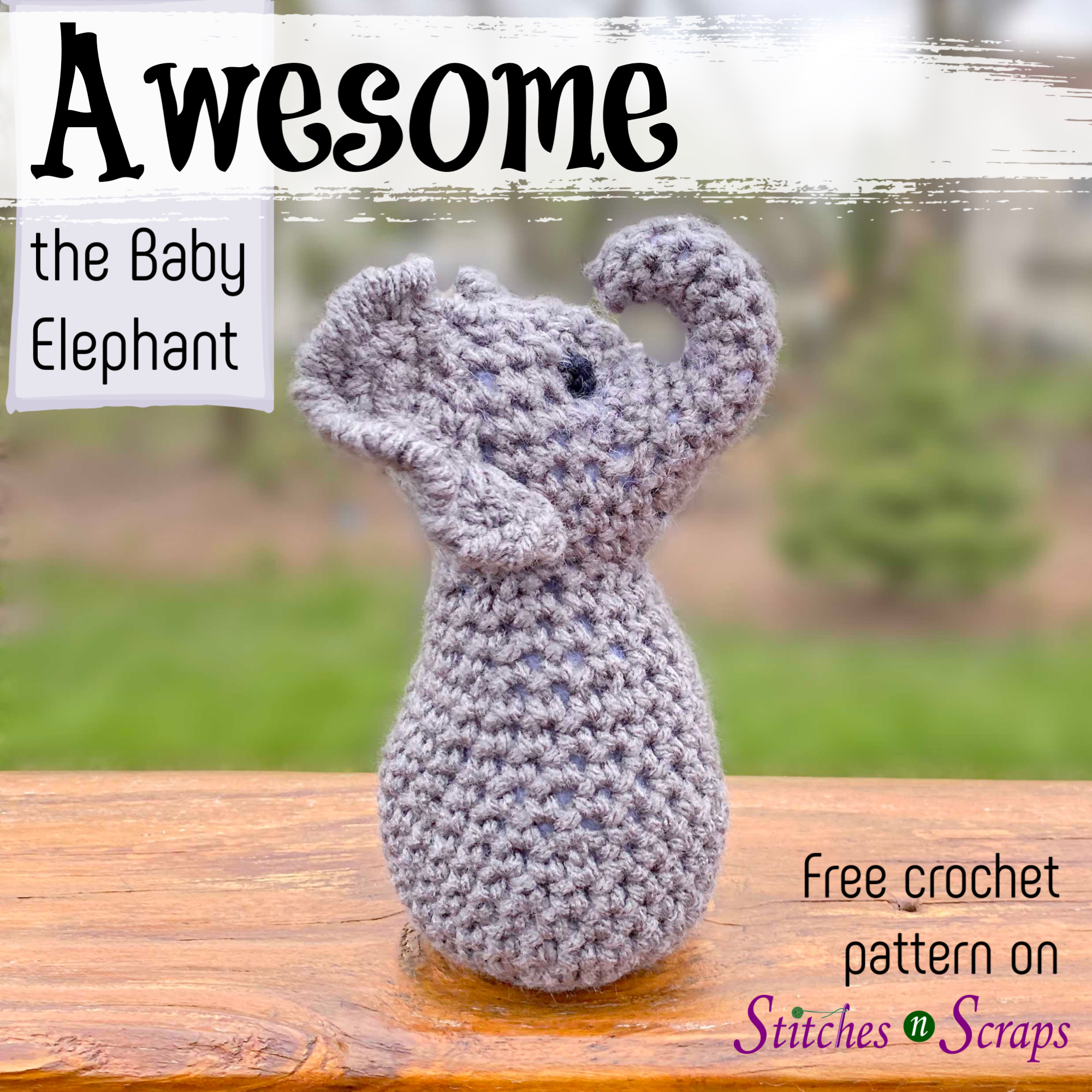 Crochet elephant border… | Crochet elephant, Crochet edging, Crochet baby | 2000x2000